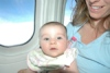 Keira's First Plane Ride
